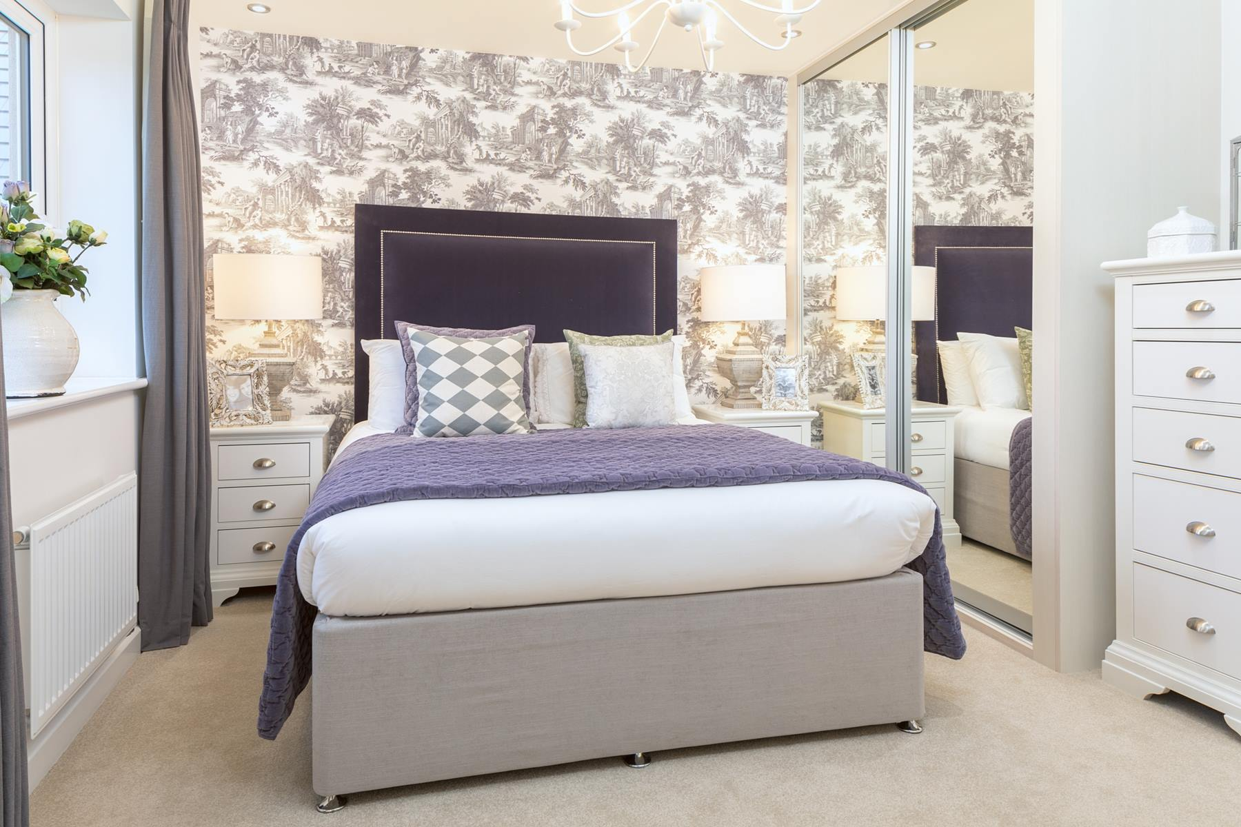 Typical Taylor Wimpey home - Master Bedroom