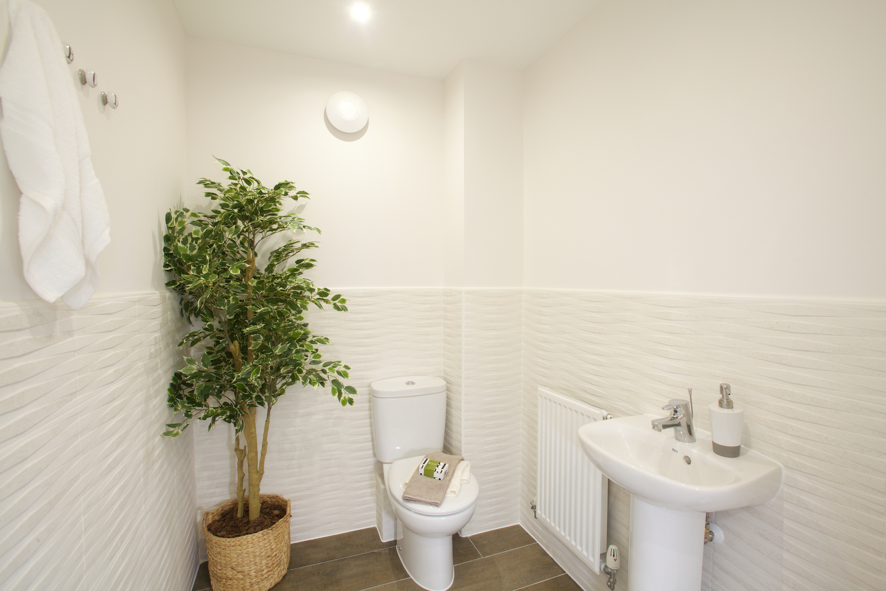 Typical Taylor Wimpey home - Cloakroom
