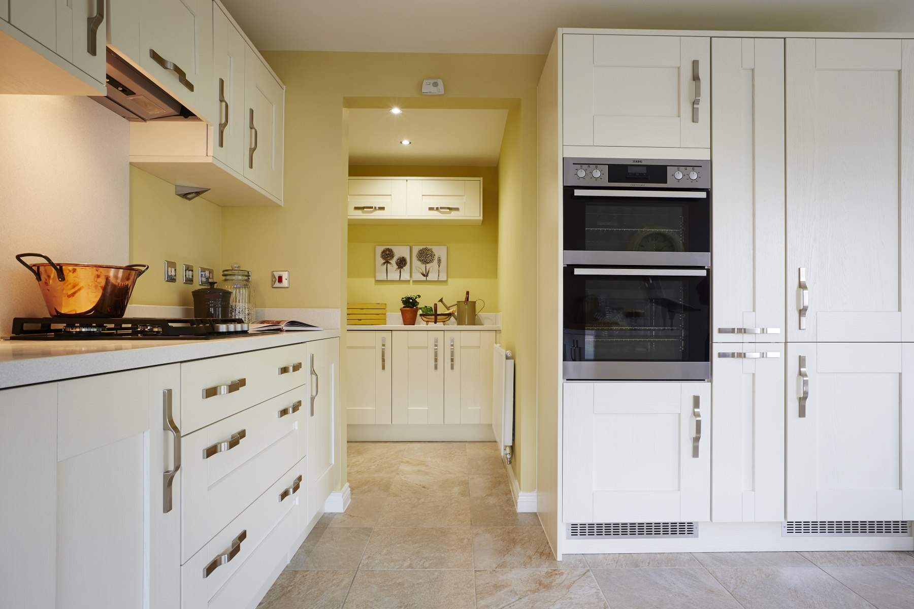 Typical Taylor Wimpey home - Kitchen/Utility Room