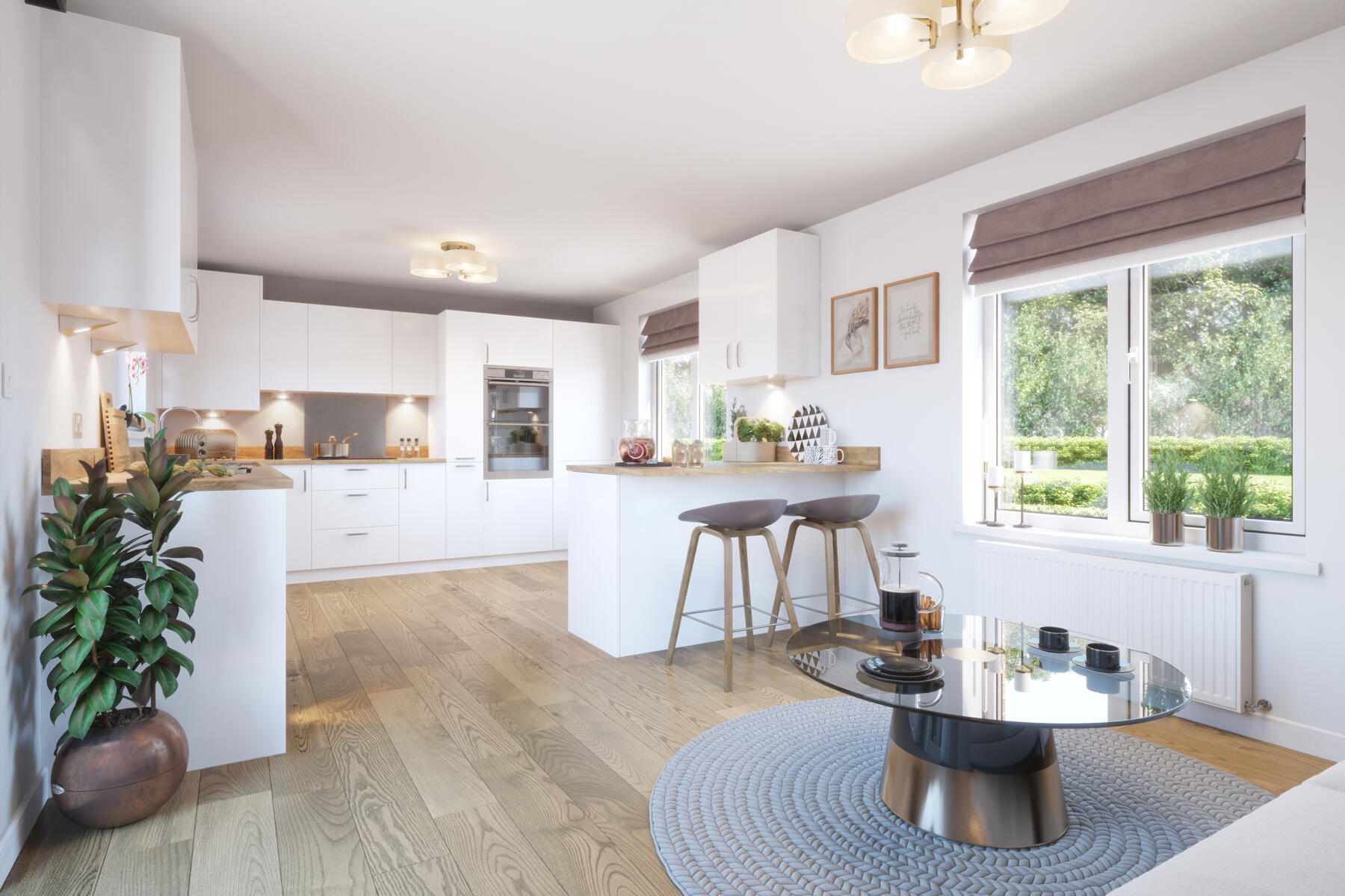 Typical Taylor Wimpey home - Kitchen