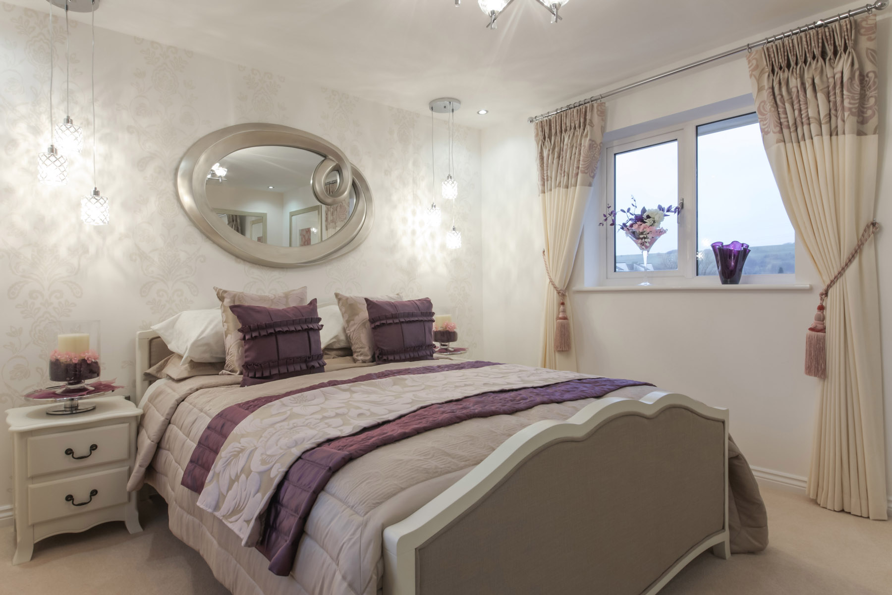 Typical Taylor Wimpey master bedroom