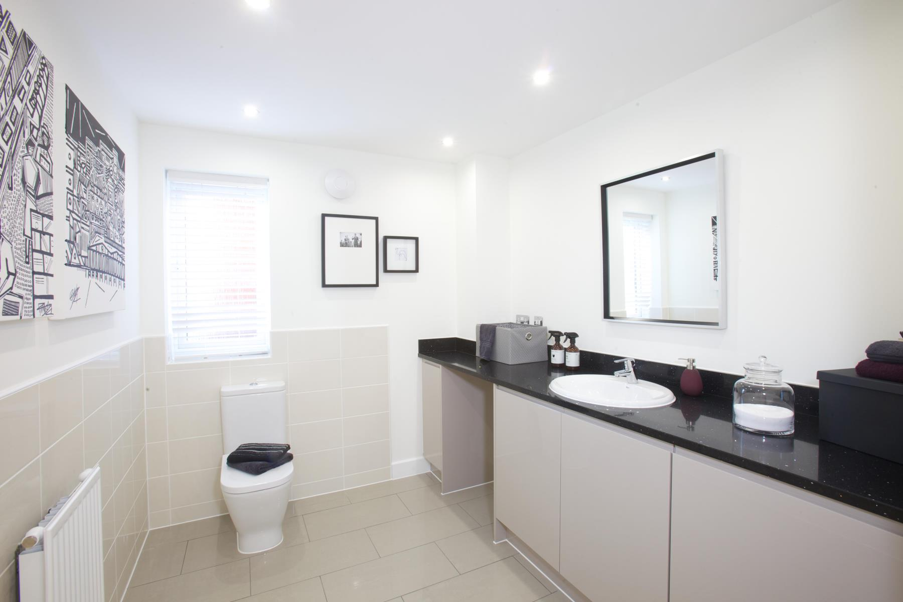 Typical Taylor Wimpey home - Cloakroom/Utility