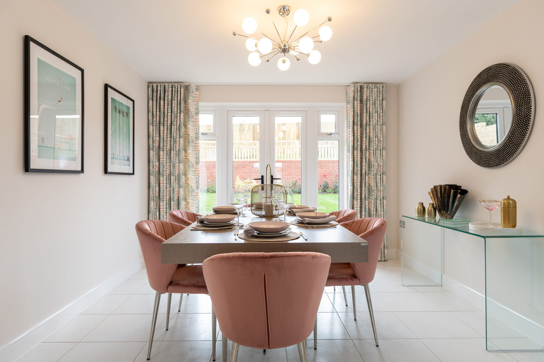 Typical Taylor Wimpey home - Dining Room