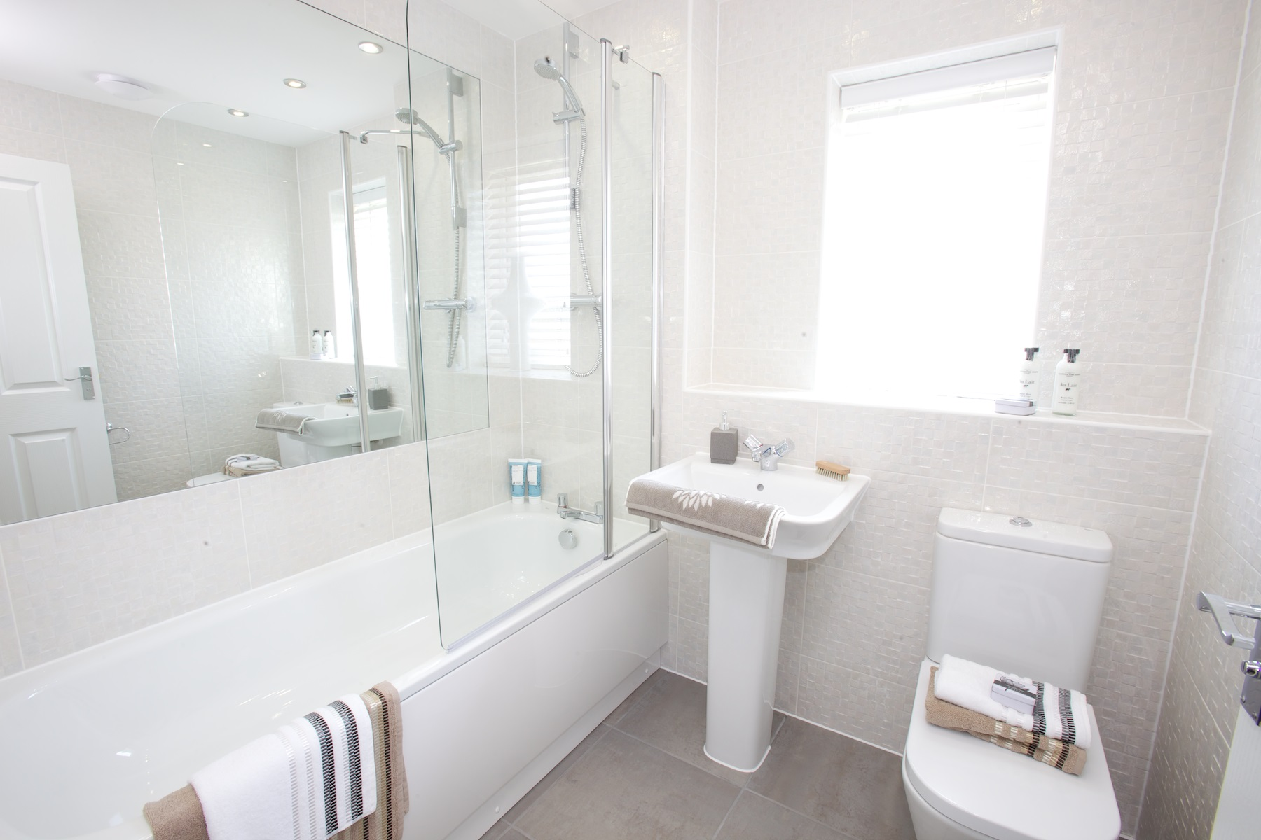 Typical Taylor Wimpey home - Bathroom