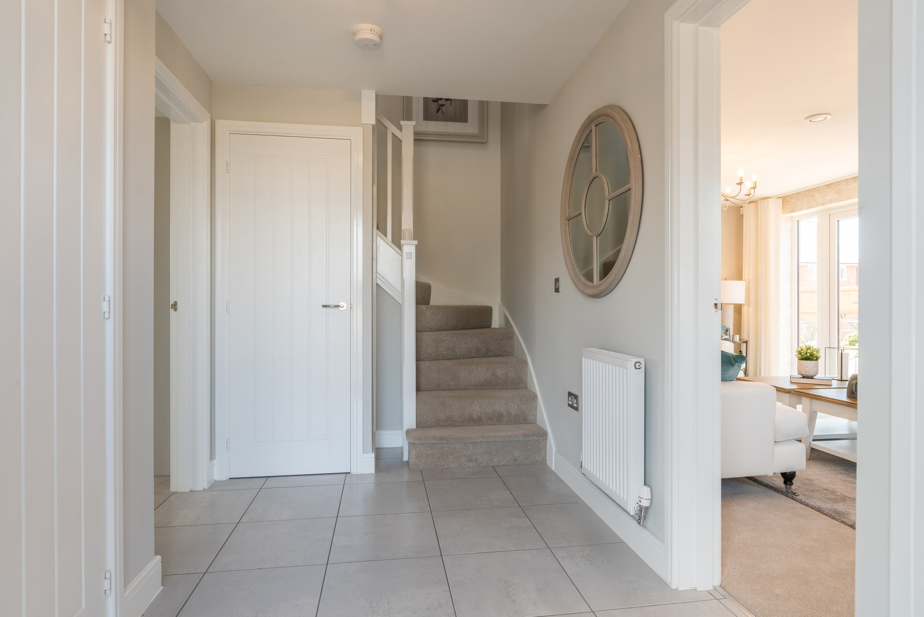 Typical Taylor Wimpey home - Hallway