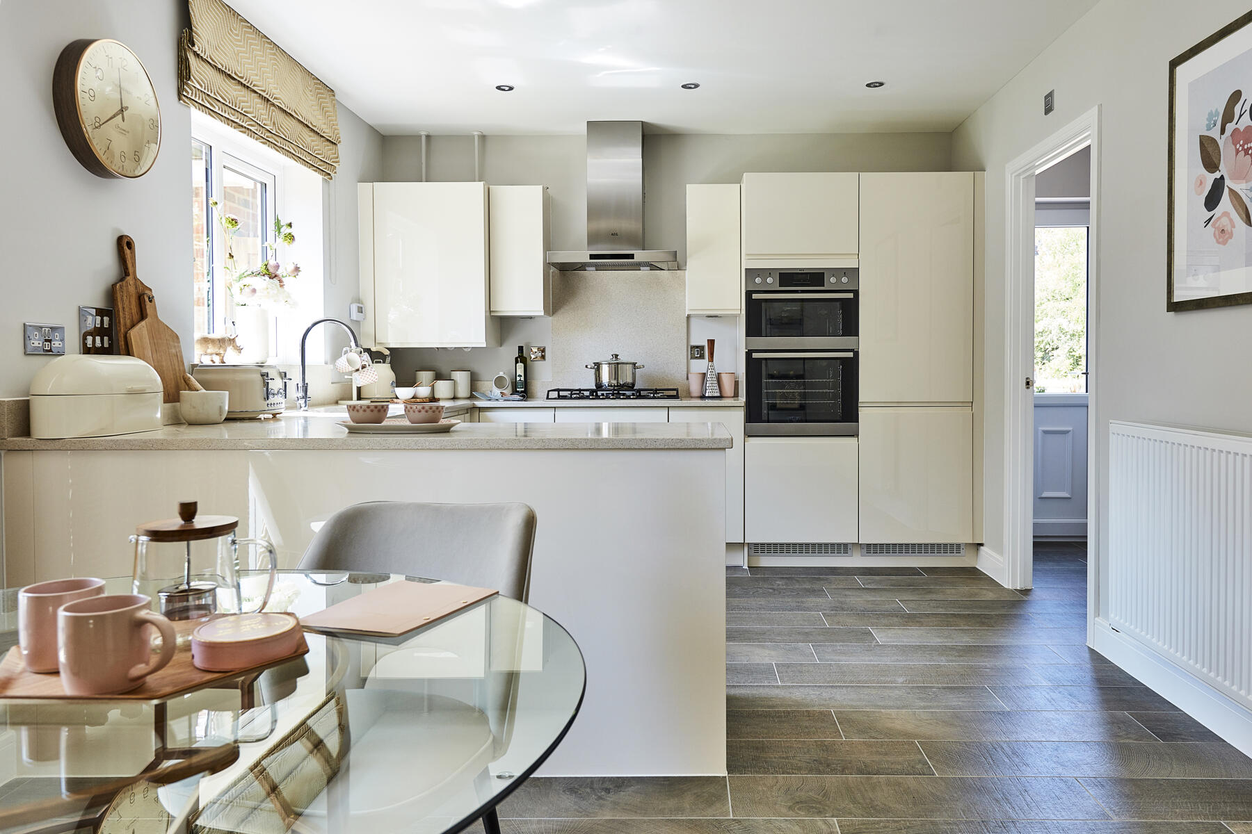 Typical Taylor Wimpey home - Kitchen Dining Area