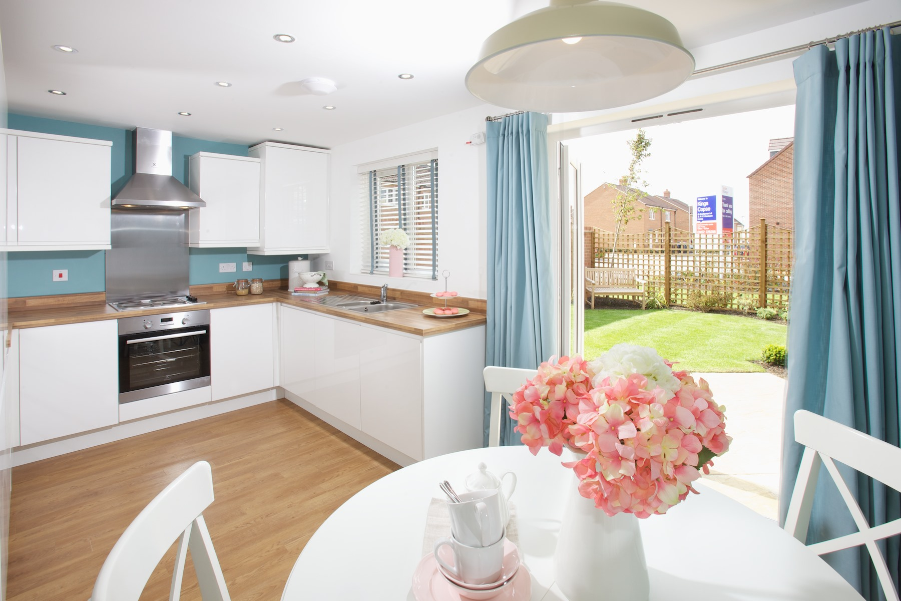 Kings Copse show home - Kitchen/dining area