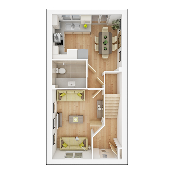 Braxton ground floor plan