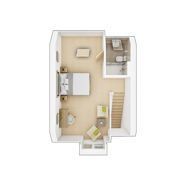 Braxton second floor plan