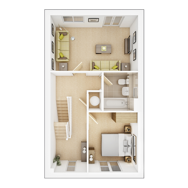 Eastbury first floor plan