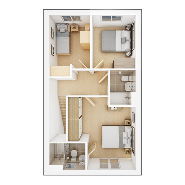 Eastbury second floor plan