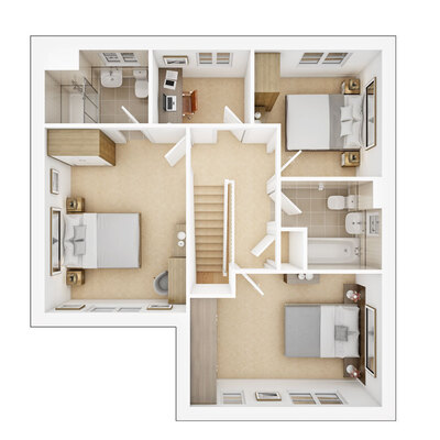 Amersham first floor plan