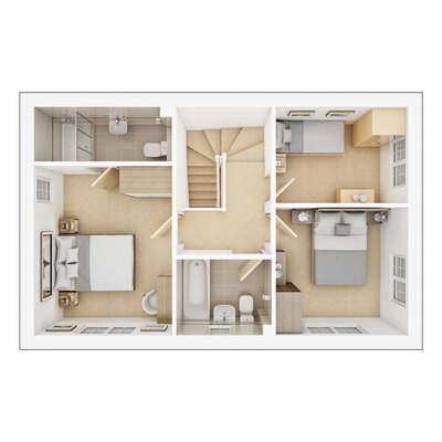 Easdale first floor plan