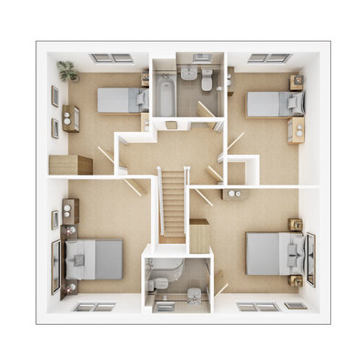 Manford first floor plan