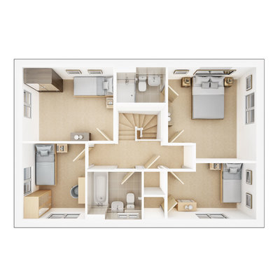 Trusdale first floor plan