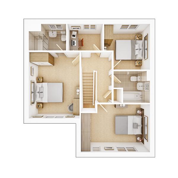 Amersham first floor plan
