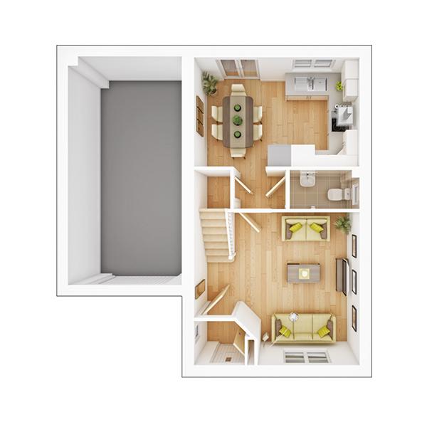 Amersham ground floor plan