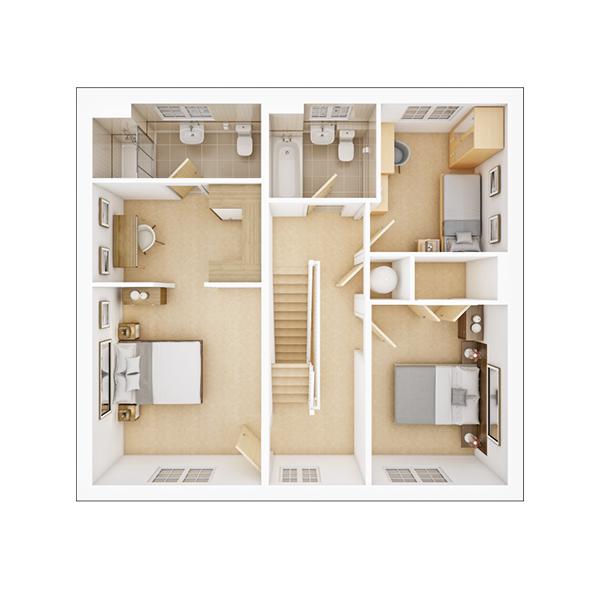 Garrton first floor plan