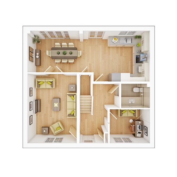 Garrton ground floor plan
