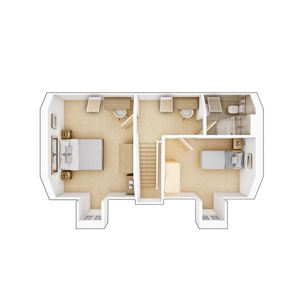Garrton second floor plan