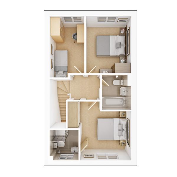 Gosford first floor plan