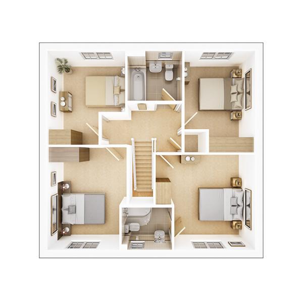 Manford first floor plan
