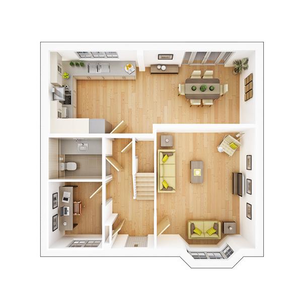 Manford ground floor plan