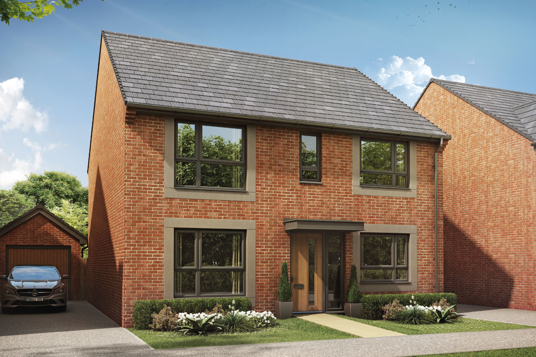 Artist's impression of the Thornford at Somerdale