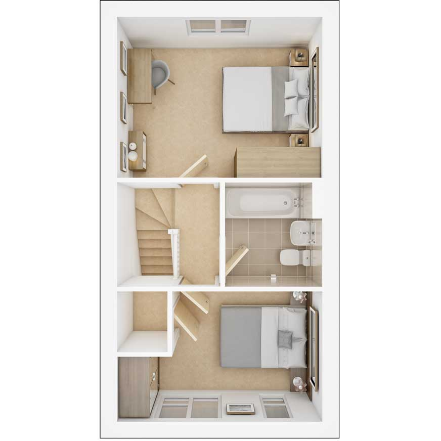 Belford first floor plan