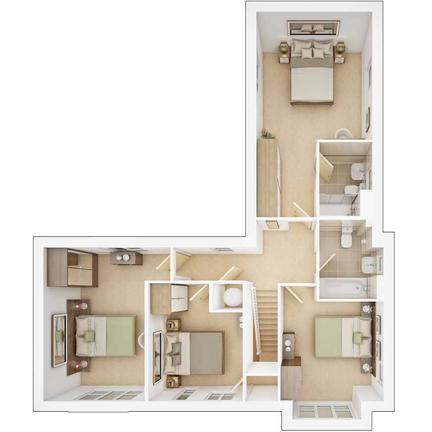 Edendale first floor plan