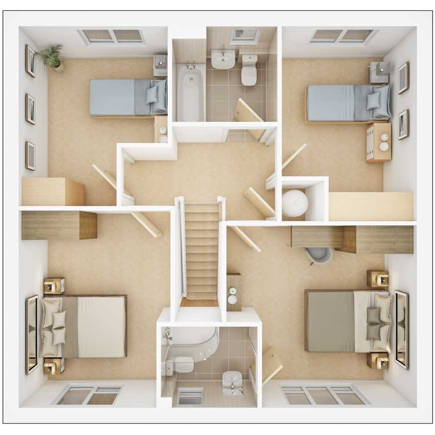 Sunford first floor plan