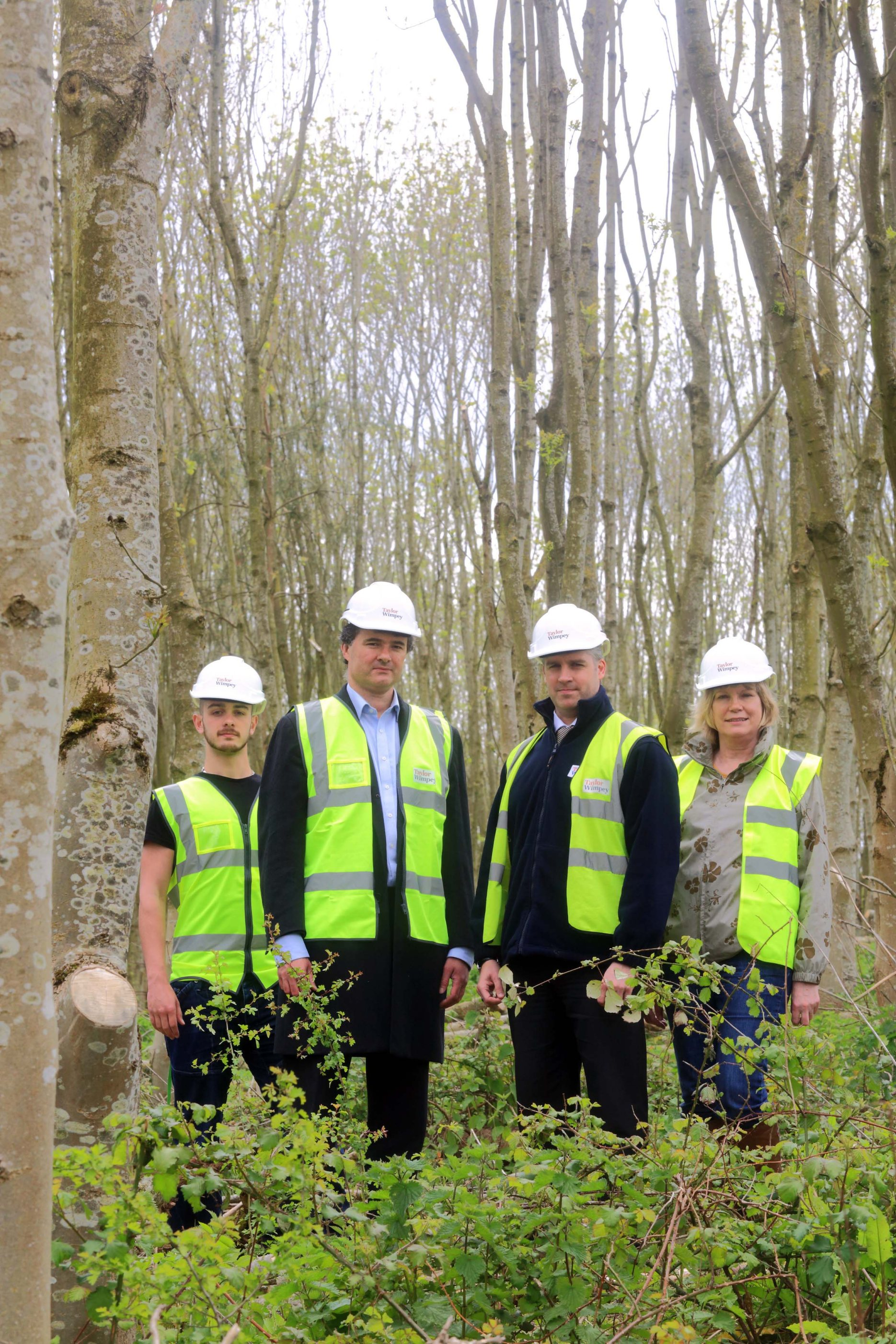 Taylor Wimpey - Sims Hill - Community Woodland 1