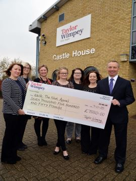 EA  1 Taylor Wimpey  EACH Nook Appeal Donation WEB