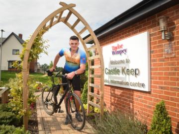 Framlingham teen tackles gruelling bike ride for cancer care project