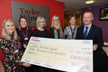 WEB Taylor Wimpey EACH Cheque Presentation (1)