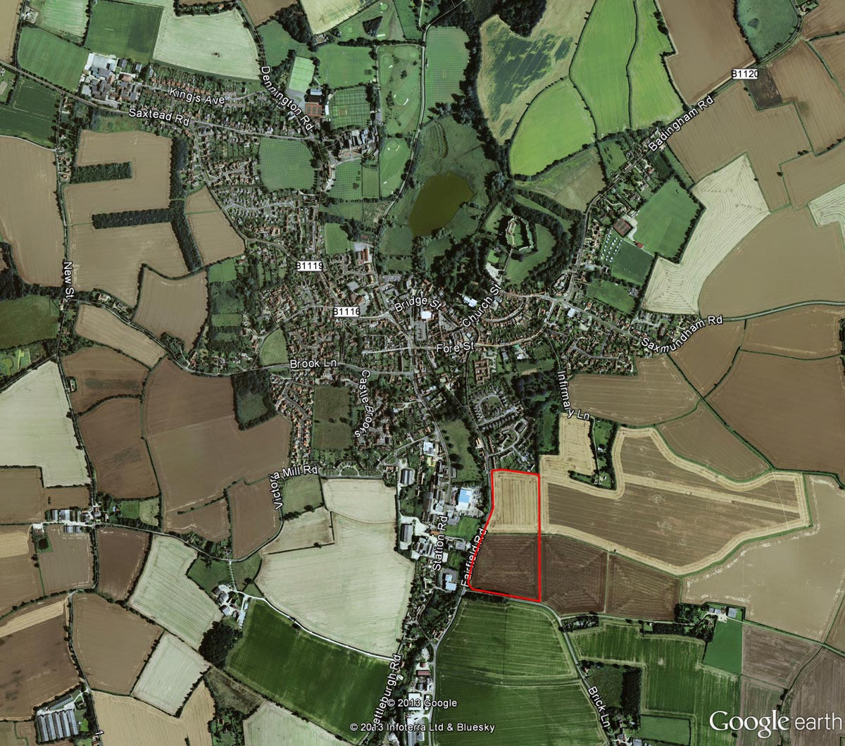 Framlingham Location Plan Web