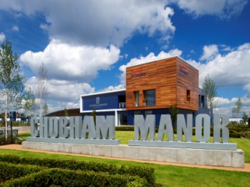 TWEL Chobham Manor sales centre web