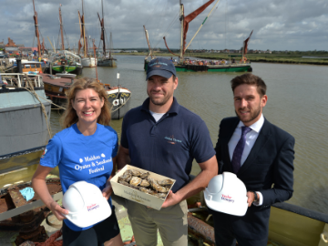 Taylor Wimpey proud to support Maldon food festival