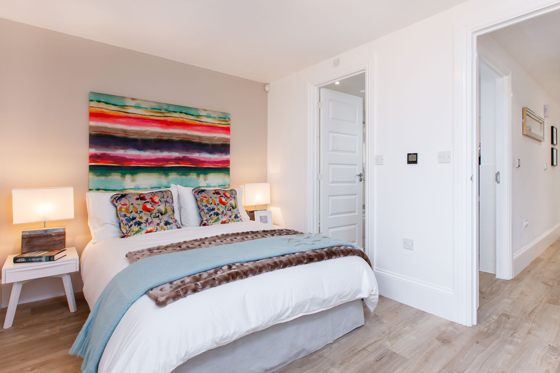 Arena Place - Typical master bedroom