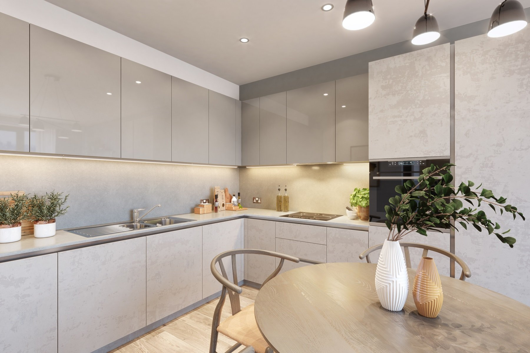 Taylor Wimpey Aspext Kitchen