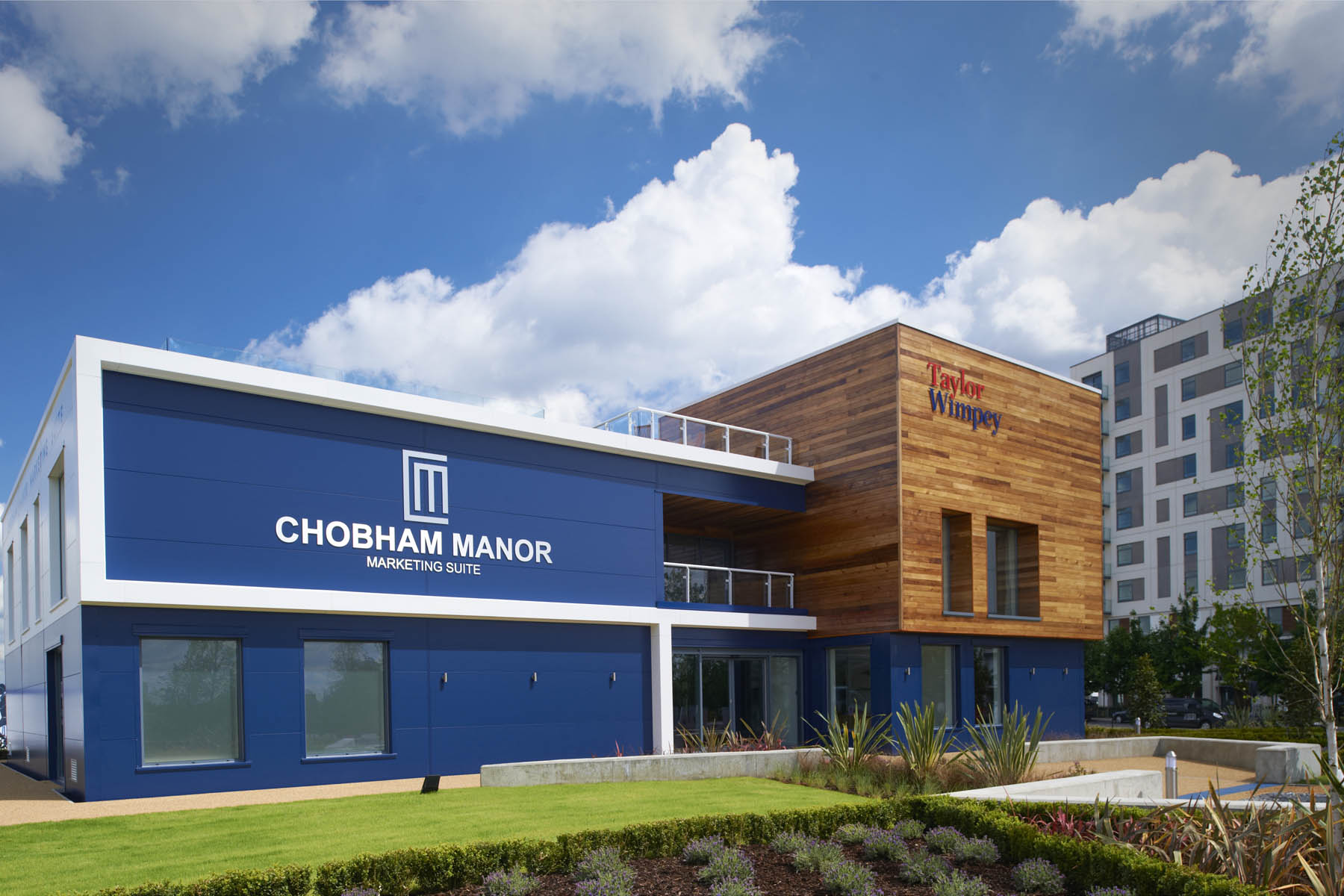 Chobham Manor Sales Office I