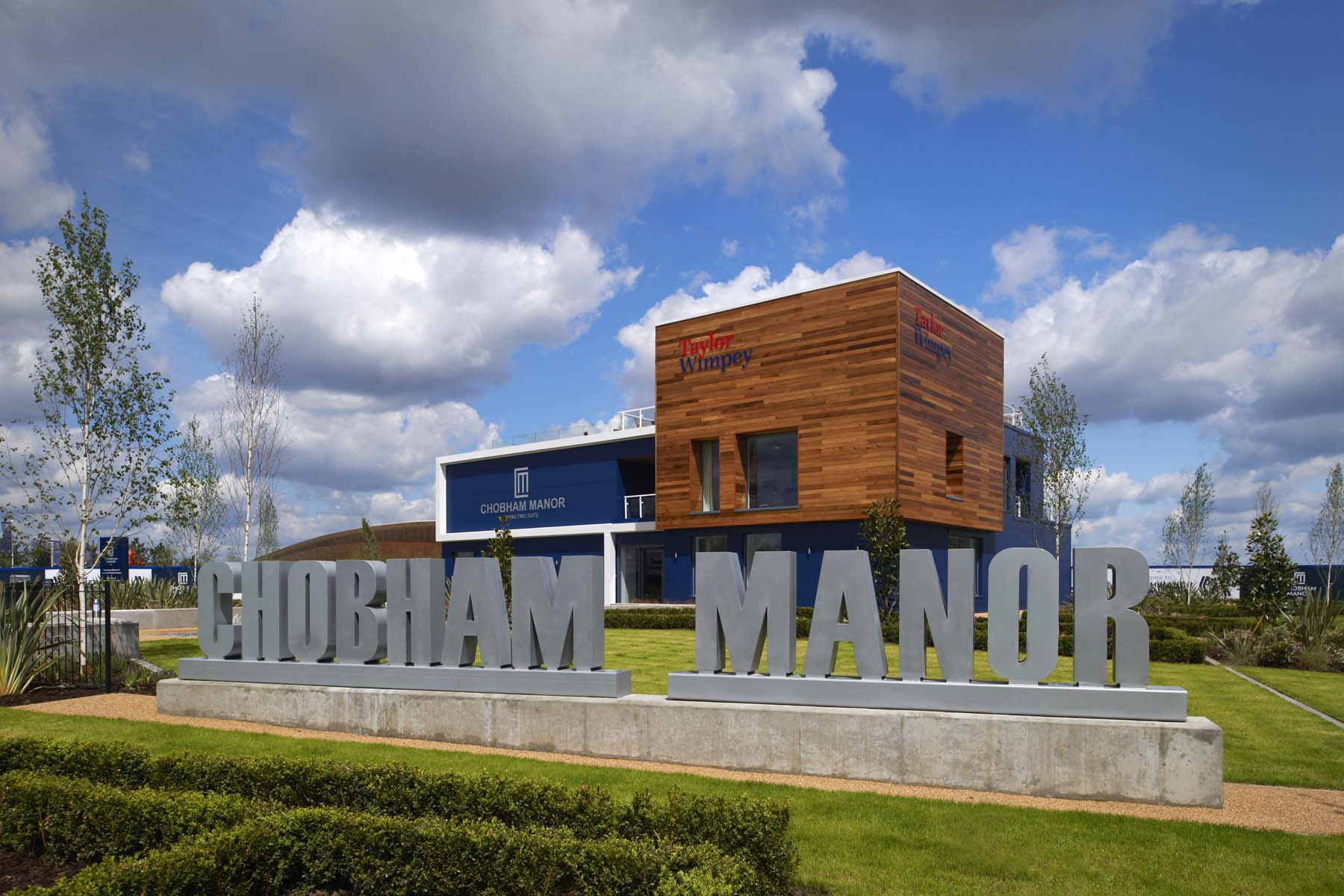 Chobham Manor Sales Office