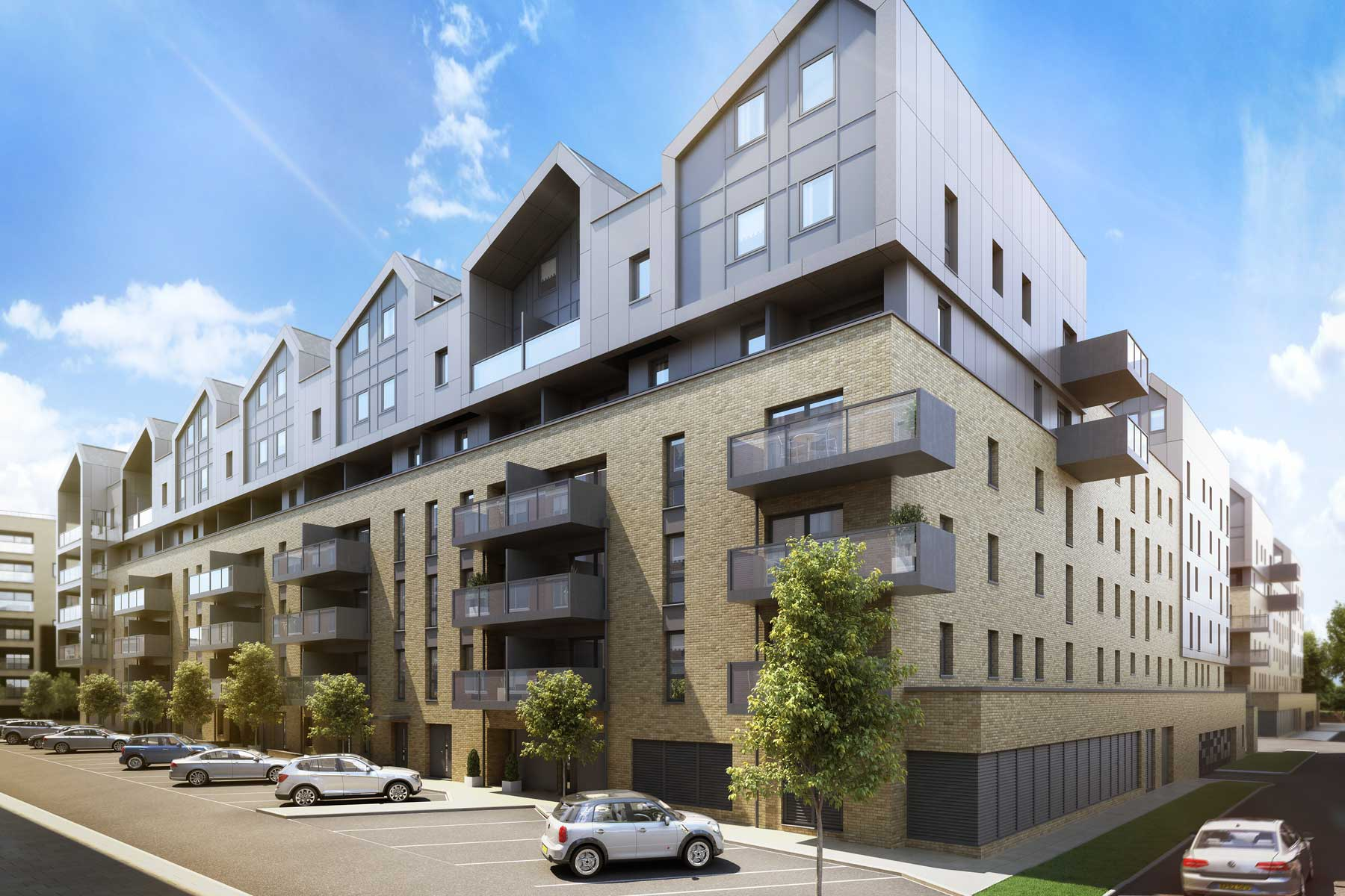 Artist impression Kane Court