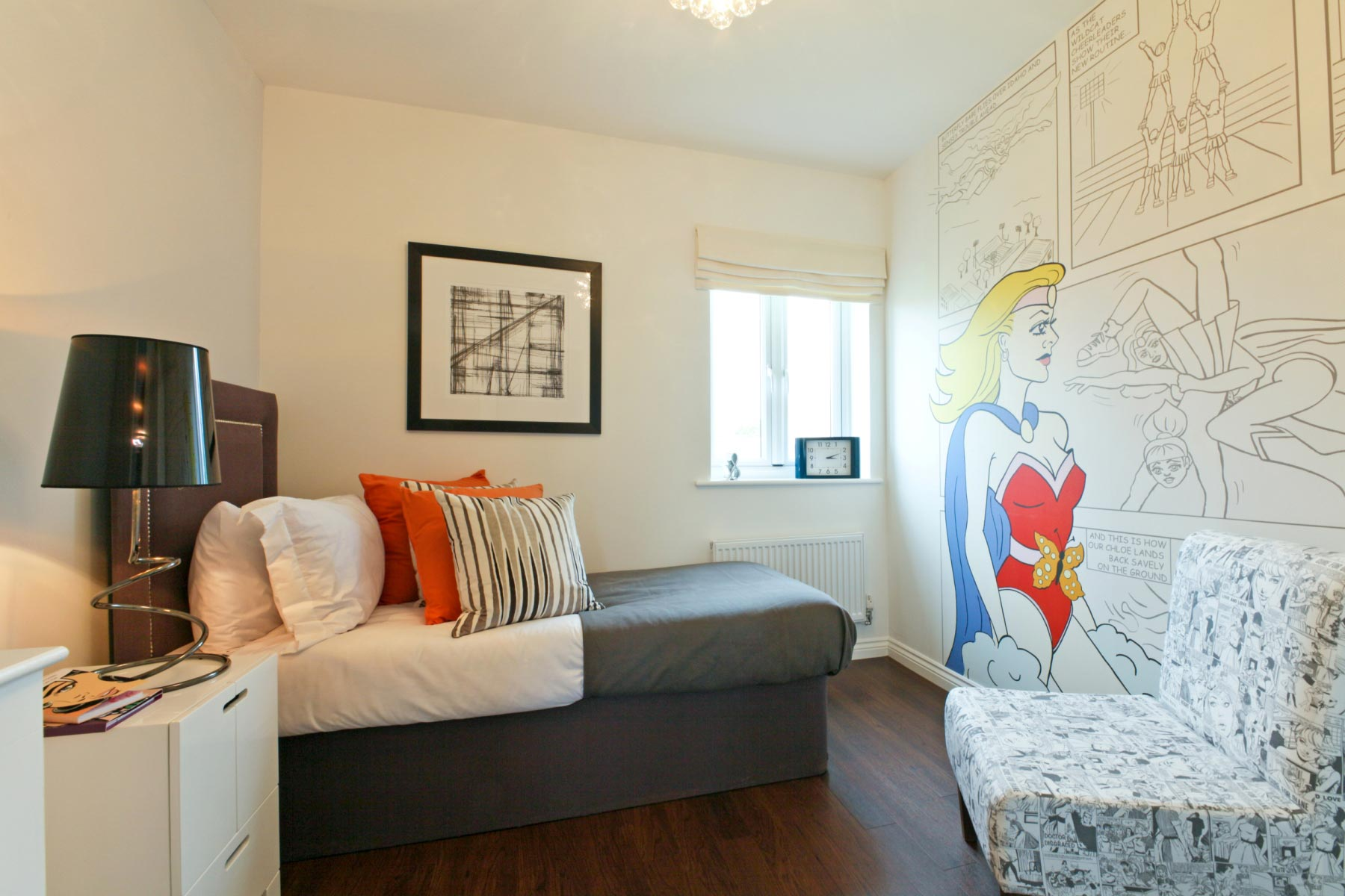 Taylor Wimpey - Typical 2nd bedroom