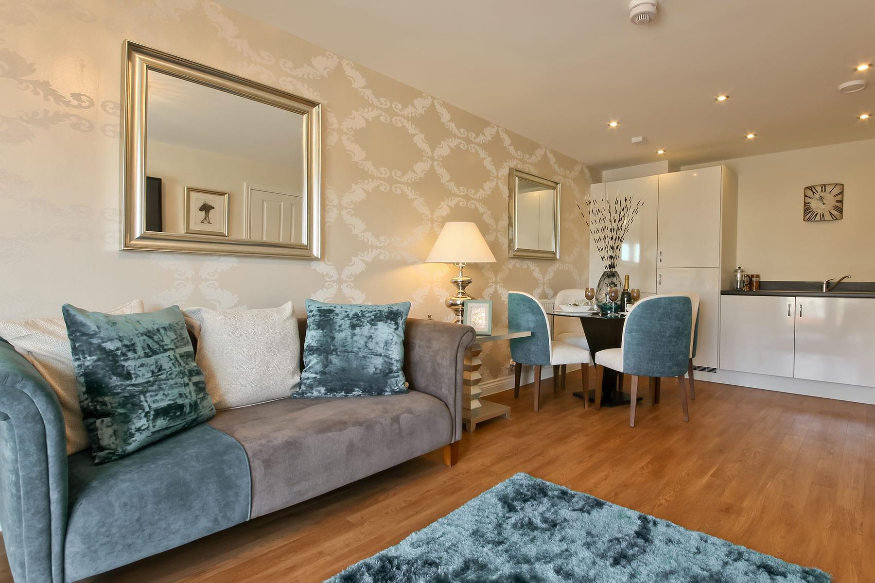 Taylor Wimpey - Typical living room