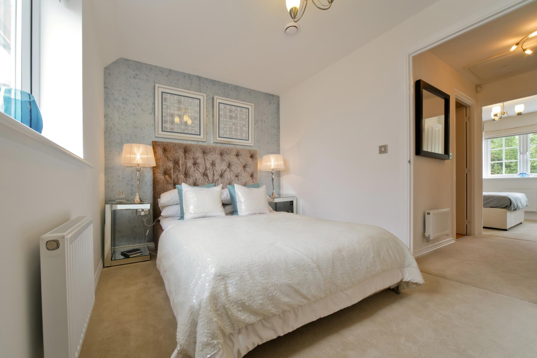 Taylor Wimpey - Typical second bedroom