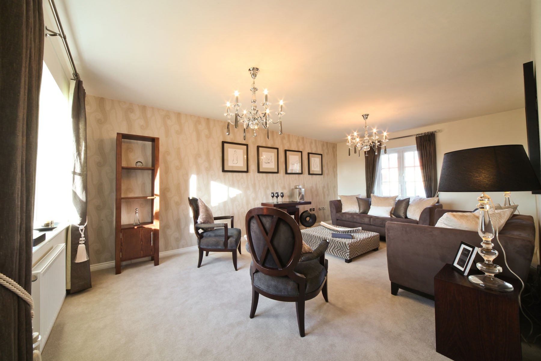 Taylor Wimpey typcical living room