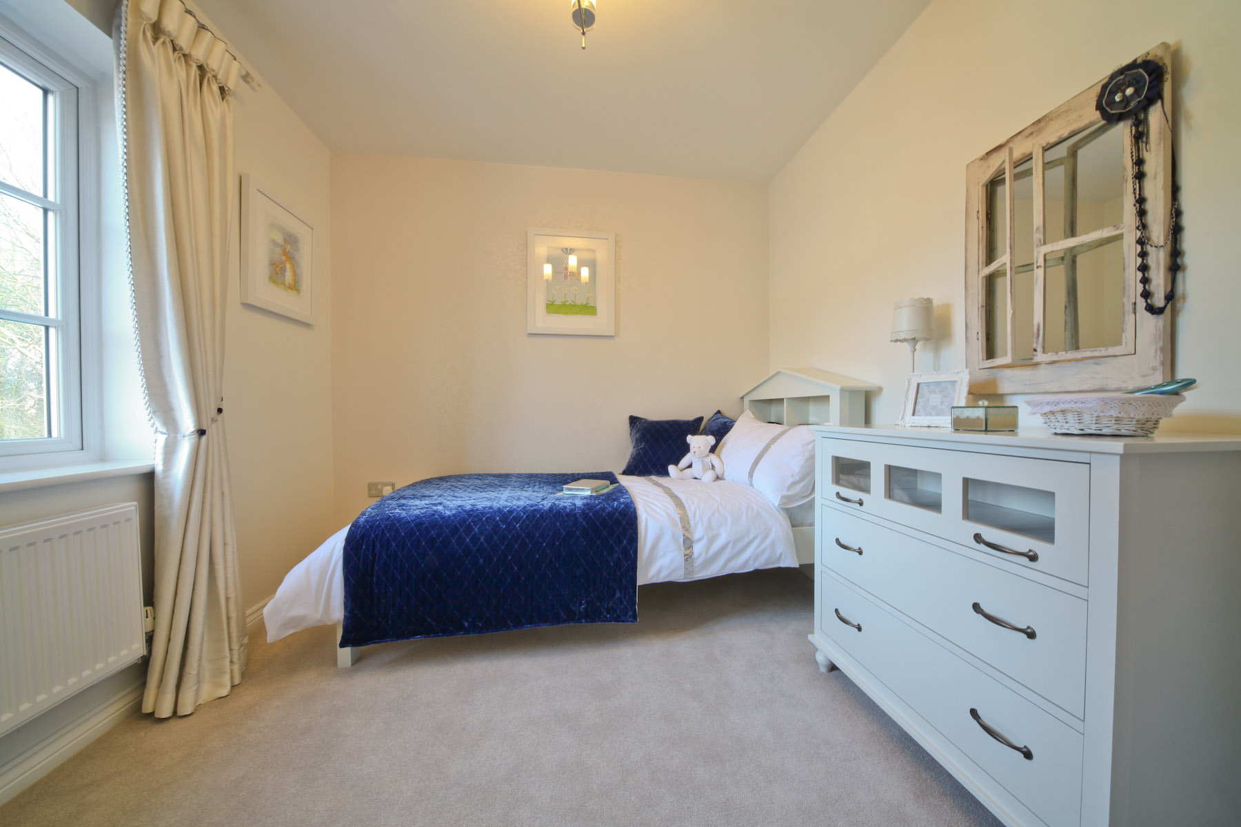 Taylor Wimpey typical 4th bedroom