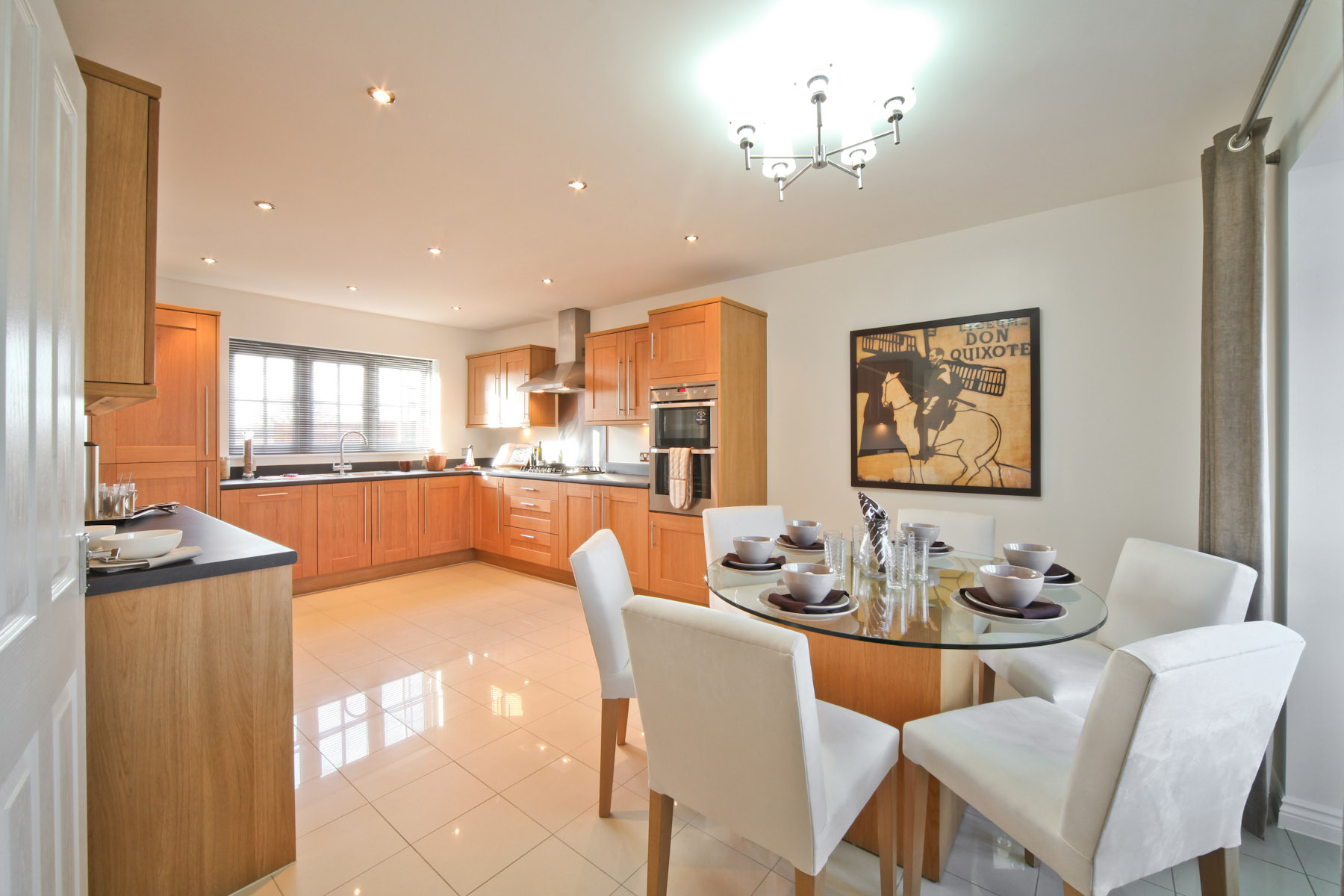 Taylor Wimpey typical kitchen-breakfast room