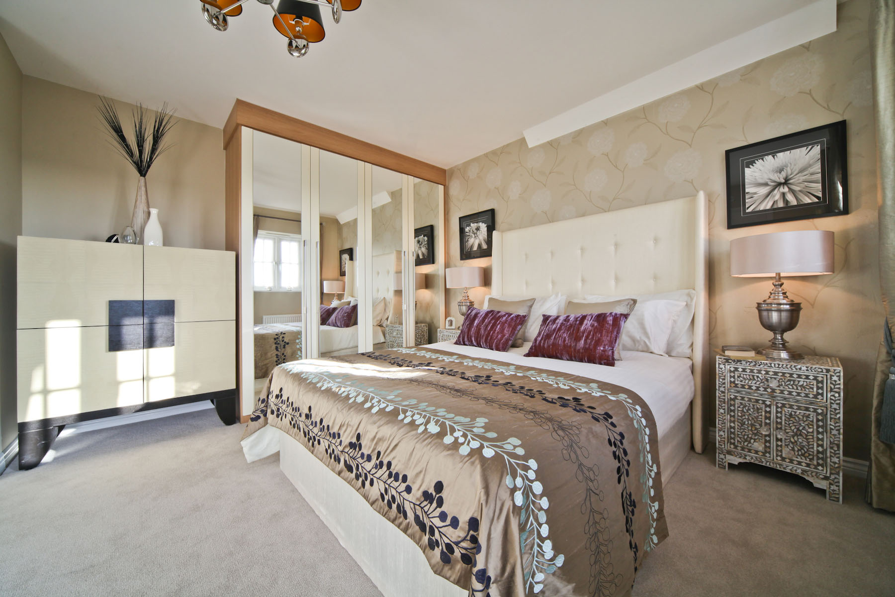 Taylor Wimpey typical master bedroom 2